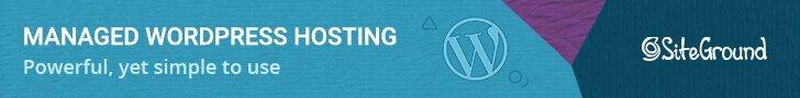 Siteground WordPress managed hosting.