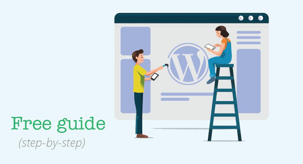 Create a WordPress website (free guide).
